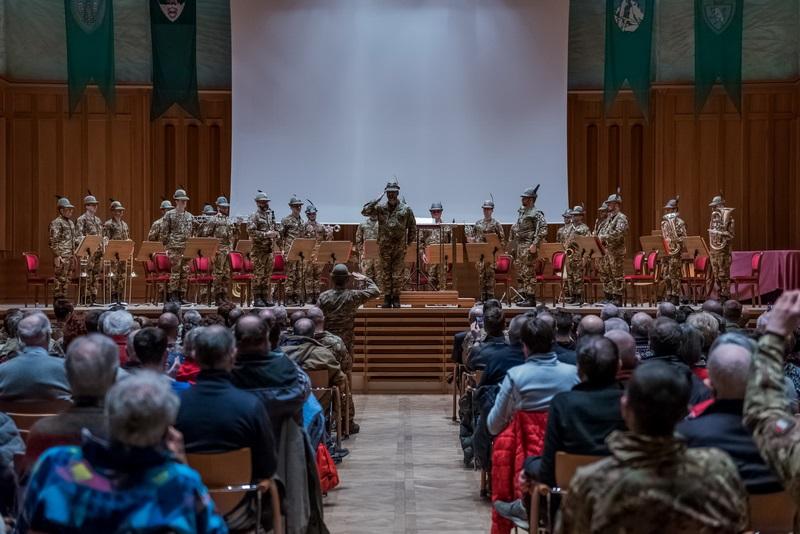 CaSTA 2019 La Fanfara della Brigata Alpina Julia in concerto.