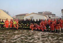 Volontari delle Squadre AIB della PV ANA e delle squadre AIB delle Truppe Alpine