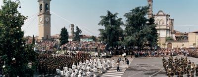 BRESCIA A Travagliato il giuramento di 600 reclute alpine ...